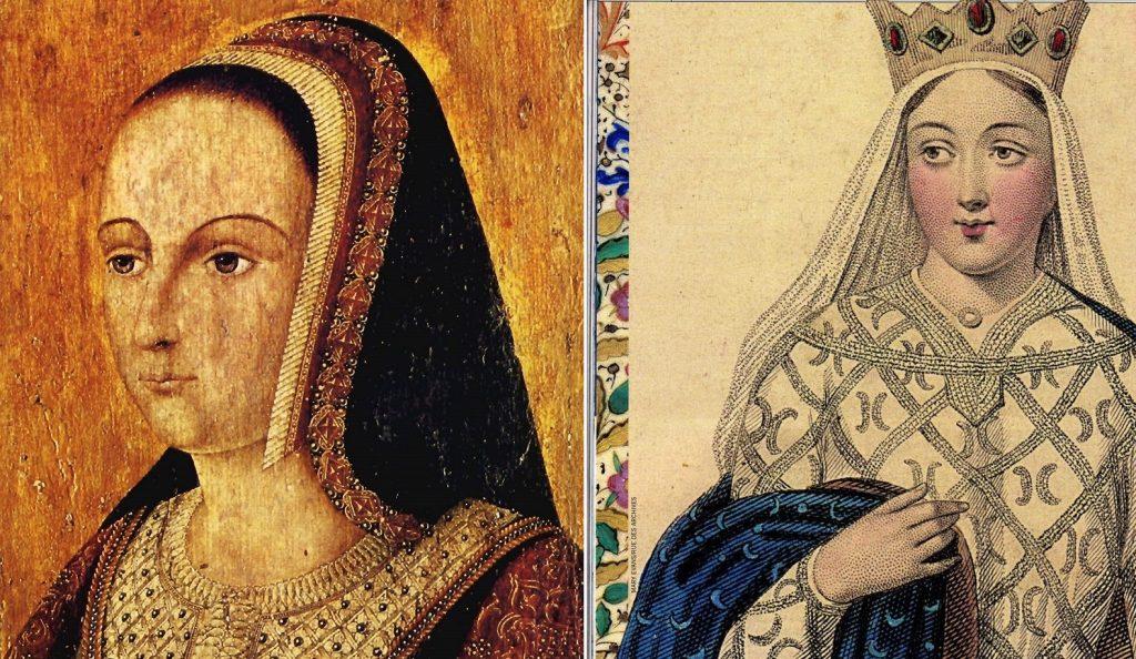 Anne de Bretagne et Aliénor d'Aquitaine