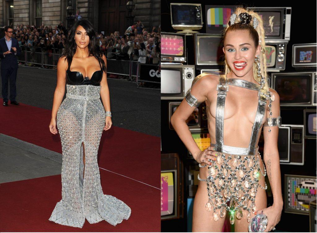 Kim Kardashian & Miley Cyrus